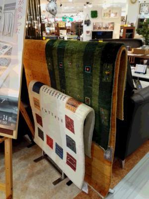 臼杵本店にて『特選手織絨毯展』3日間開催!の写真2